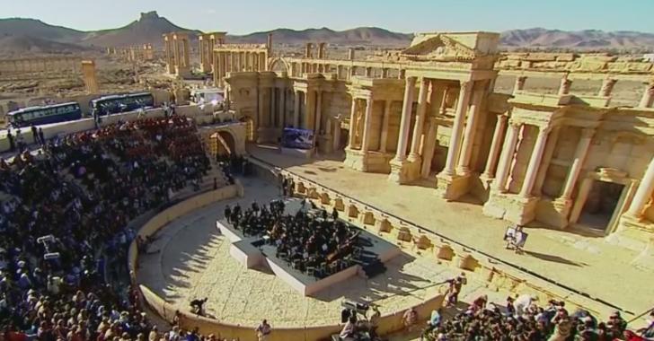 Mediálny koncert Ruska v Palmýre pokrývala aj CNN